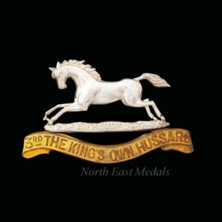 3rd The King's Own Hussars Officers Cap Badge