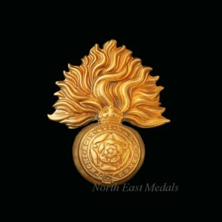 Edwardian Royal Fusiliers Cap Badge