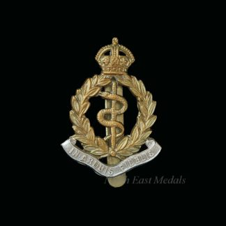 Royal Army Medical Corps Bi-Metal Cap Badge