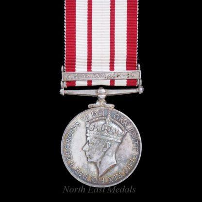 GVIR Naval General Service Medal Clasp 'S.E. Asia 1945-46'