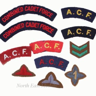 Collection of British Army Cadets Cloth Embroidered Badges (11)