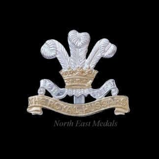 The Royal Hussars Staybrite Cap Badge