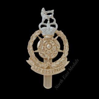 Lancastrian Brigade Staybrite Cap Badge