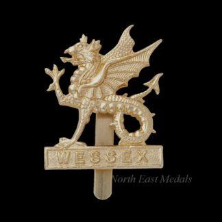 Wessex Brigade Staybrite Cap Badge