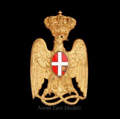 Italian African Colonial Police Helmet Badge