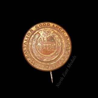 WW1 Soldier's Lucky Charm, Alf's Button, 1st Battalion Good Luck Regiment