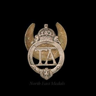 WW2 Territorial Soldiers Lapel Badge