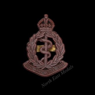 WW2 Royal Army Medical Corps RAMC Plastic Cap Badge