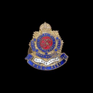 GVIR RASC Royal Army Service Corps Association Lapel Badge