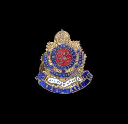 GVIR RASC Royal Army Service Corps Association Lapel Badge