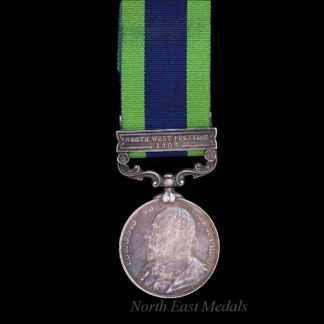 India General Service Medal 1908 Clasp NWF 1908, Royal Warwickshire Regiment