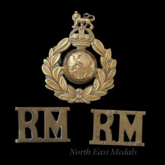 Royal Marines Cap Badge and Shoulder Titles
