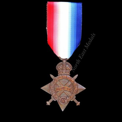 1914-15 Star Medal Private Guy, Army Service Corps