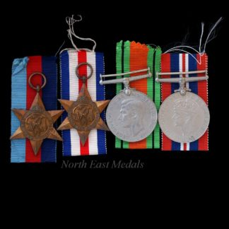 WW2 Campaign Medal Group of Four, France and Germany