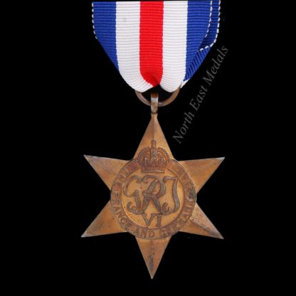 British France & Germany Star WW2 Campaign Medal