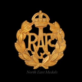 WW2 Royal Air Force Airman's Cap Badge
