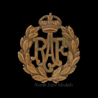 Royal Air Force RAF Airman's Cap Badge