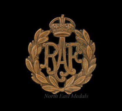 Royal Air Force RAF Airman's Cap Badge