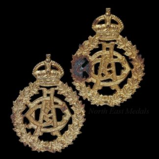 Canadian Army Dental Corps Pair of Other Ranks Collar Badges