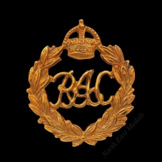 Royal Armoured Corps 1st Type Cap Badge