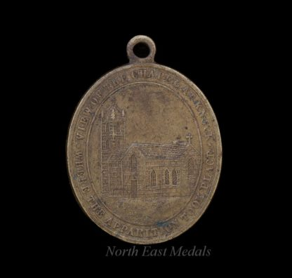 An Early Holy Apparition at Knock Commemorative Medal Catholic