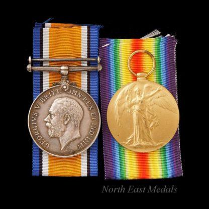 Great War British War and Victory Medal Pair to Ashell, Royal Navy