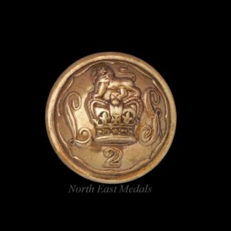 Victorian Second Life Guards Uniform Button