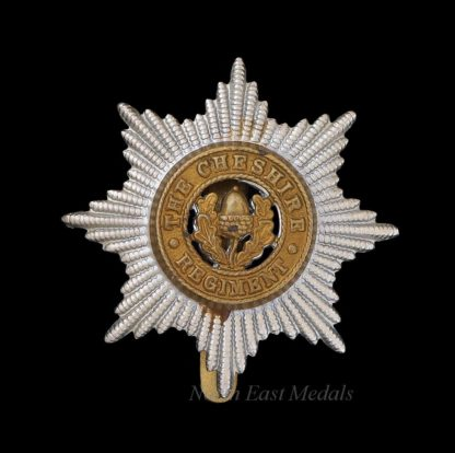 WW2 Cheshire Regiment Cap Badge