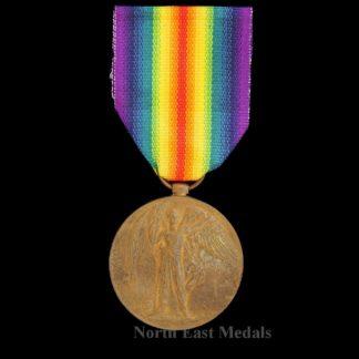 Great War Victory Medal Private Schaffert, Middlesex Regiment of German Decent