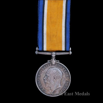 British War Medal, Pte Oxenham Tyneside Scottish KIA Somme 1st July 1916