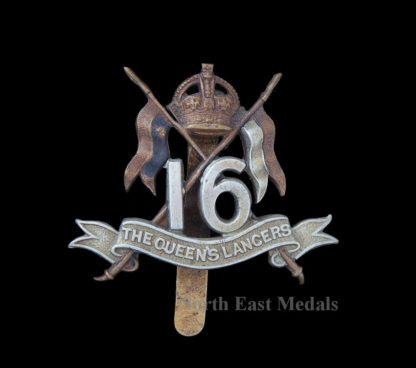 16th (The Queen's) Lancers Cap Badge