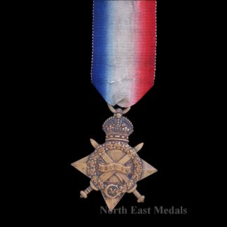 1914-15 Star Medal to Private Offord, Essex Regiment