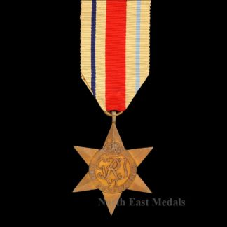 WW2 Africa Star Campaign Medal