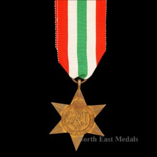 WW2 Italy Star Campaign Medal