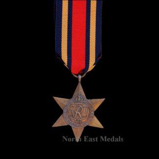 WW2 Burma Star Campaign Medal