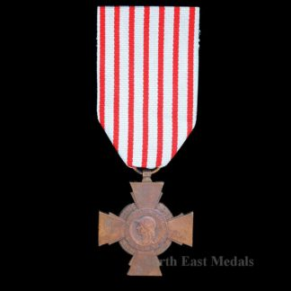 French Combatant's Cross-Croix du Combattant Medal