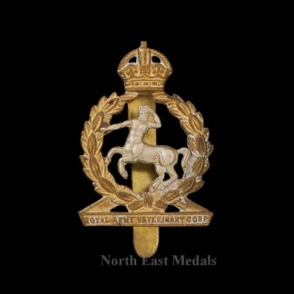 WW2 Royal Army Veterinary Corps Cap Badge