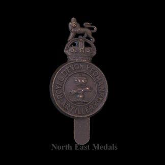 Royal Devon Yeomanry Artillery Cap Badge