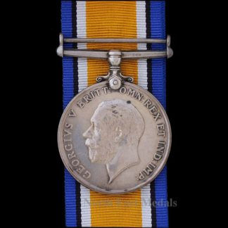 British War Medal Private Bell, King's Liverpool Regiment. KIA 1917