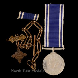 Police Long Service and Good Conduct Medal GVIR 'Fid Def' Type. Police Inspector