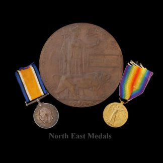 Medals correctly impressed- '21271 Pte T. Brown Linc. R.'