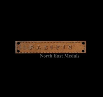 Original WW2 Pacific Bar for the Burma Star Medal