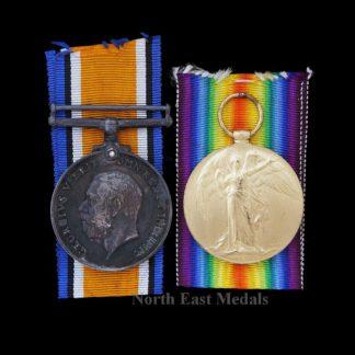 Great War British War and Victory Medal Pair Lillico, Royal Navy