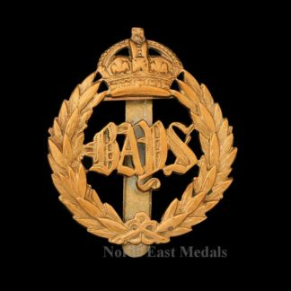 The Queen's Bays (2nd Dragoon Guards Cap Badge)