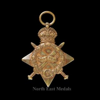 1914-15 Star Medal (Defective)
