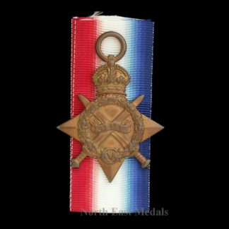 1914-15 Star Medal, Private Mylett. Lancashire Fusiliers