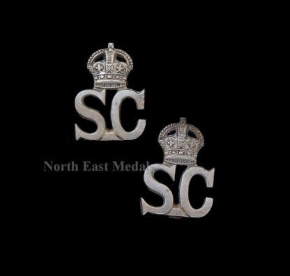 Pair of Special Constabulary Collar Badges