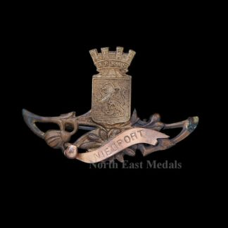 WW1 Battlefield/Town Commemorative Brooch/Badge 'Nieuport'