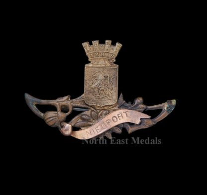 WW1 Battlefield/Town Commemorative Brooch/Badge 'Nieuport'