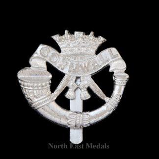 Duke of Cornwall's Light Infantry Staybrite Cap Badge